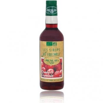 Sirop de Cranberry Framboise - 50cl - Meneau