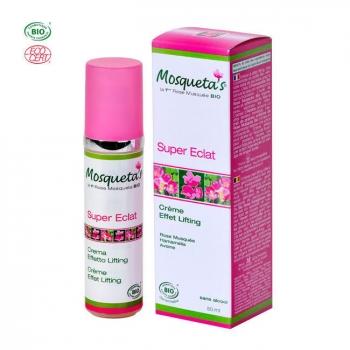 MOSQUETA'S - Crème Super Eclat bio - Effet lifting 50ml