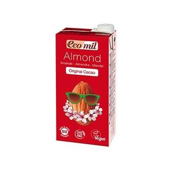 Lait d'Amande Original Cacao Bio - 1L - Ecomil