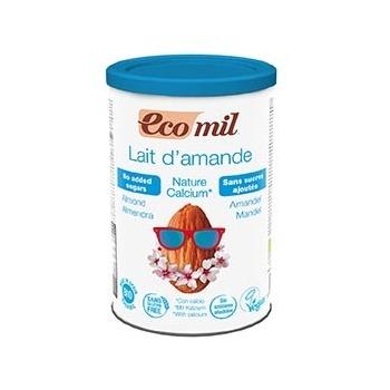 Lait Amandes-Calcium Instantané Nature 400g Bio - Ecomil