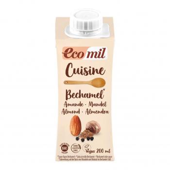 Crème Cuisine aux Amandes façon Béchamel 200ml Bio - Ecomil