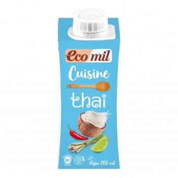 Crème Cuisine Thaï 200ml Bio - Ecomil