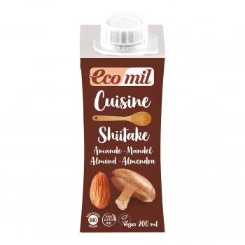 Crème Cuisine Shiitake 200ml Bio - Ecomil