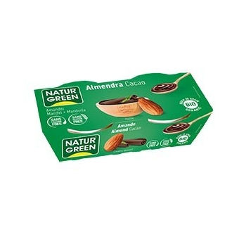 Dessert aux Amandes Cacao 2x125g Bio - Naturgreen