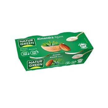 Dessert aux Amandes Sirop d'Agave 2x125g Bio - Naturgreen
