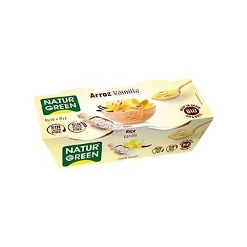 Dessert Riz Vanille 2x125g Bio - Naturgreen