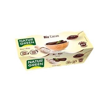 Dessert Riz Chocolat 2x125g Bio - NaturGreen