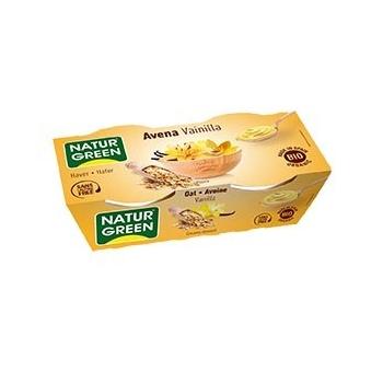 Dessert Avoine-Vanille 2x125g Bio - Naturgreen