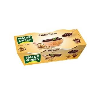 Dessert Avoine-Cacao 2x125g Bio - NaturGreen