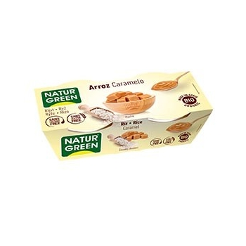 Dessert Riz Caramel 2x125g Bio - NaturGreen