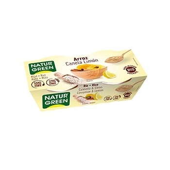 Dessert Riz Cannelle-Citron 2x125g Bio - NaturGreen