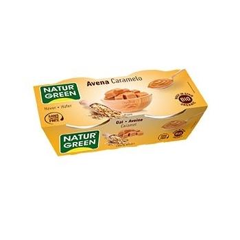 Dessert Avoine-Caramel 2x125g Bio - Naturgreen