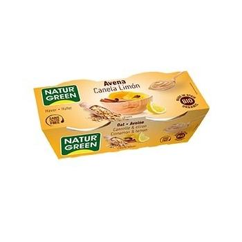 Dessert Avoine Cannelle-Citron 2x125g Bio - NaturGreen