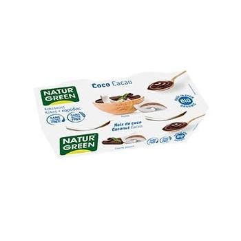 Dessert Noix de Coco - Cacao 2x125g Bio - NaturGreen