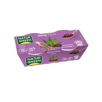 Dessert Chanvre-Cacao 2x125g Bio - NaturGreen