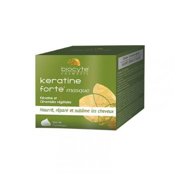 Baume Kératine Forte Sans Rinçage - Nourrit & répare les cheveux - 100ml