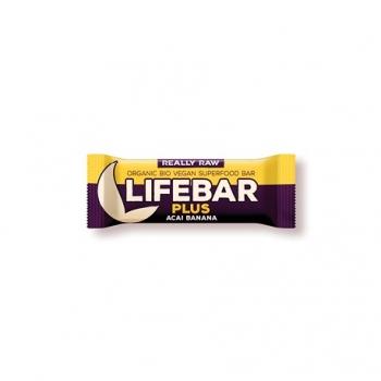 Lifebar+ Acaï - Banane - 47g - Lifefood