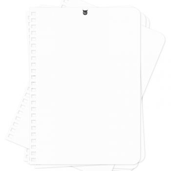 WHYNOTE RECHARGE A5 - Feuilles Blanches