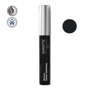 SANTE NATURKOSMETIK - Mascara bio Définition parfaite n°01 Noir 8ml