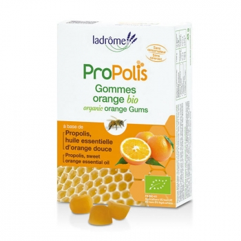 LADRÔME - Gommes Propolis et Orange bio 45g