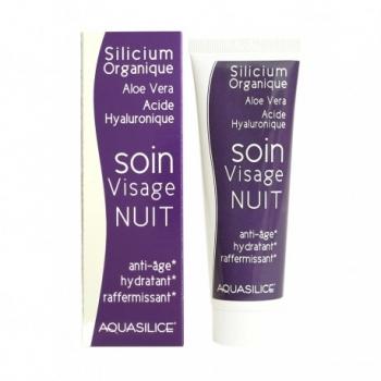 Soin Visage Nuit - Aquasilice - 50ml