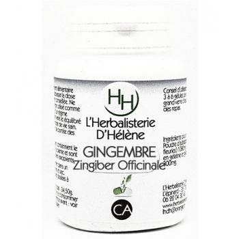 Gingembre, 100 gélules, L'Herbalisterie D'Hélène