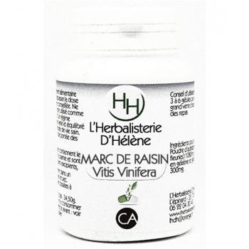 Marc de raisin, 100 gélules, L'Herbalisterie D'Hélène