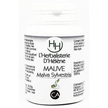Mauve, 100 gélules, L'Herbalisterie D'Hélène