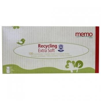 Mouchoirs Papier Recyclé Epaisseurs - 100 mouchoirs