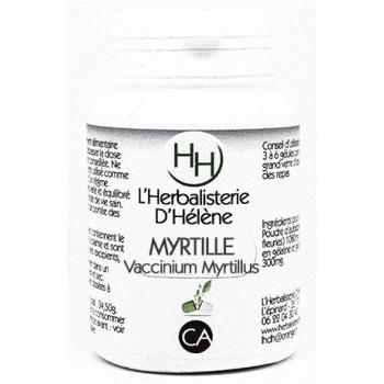 Myrtille baies, 100 gélules, L'Herbalisterie D'Hélène