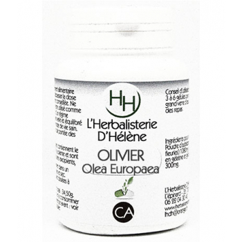 Olivier, 100 gélules, L'Herbalisterie D'Hélène