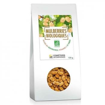 COMPTOIRS ET COMPAGNIES - Mulberries bio séchées 125g