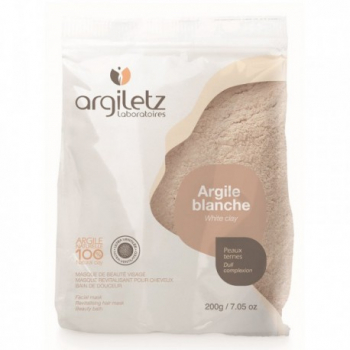 ARGILETZ - Argile Blanche Ultra-ventilée 200 gr