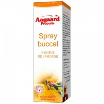 Spray Buccal Hygiène de la Gorge - 15ml - Aagaard Propolis