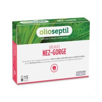 Nez-Gorge - Olioseptil - 15 Gélules