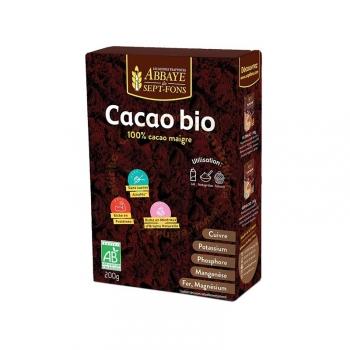 Pur Cacao Bio - 100% cacao maigre - 200g