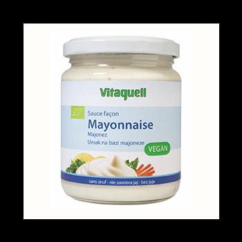 Sauce façon Mayonnaise Vegan 250ml Bio - Vitaquell