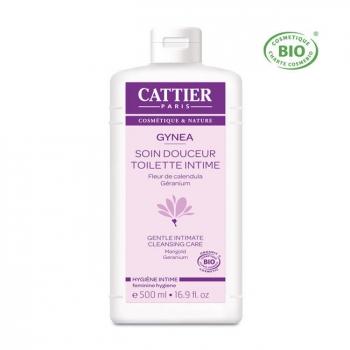 CATTIER - Gynéa gel de toilette intime bio pour femme 500ml