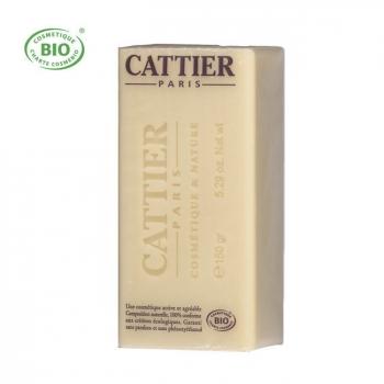 CATTIER - Savon surgras bio au karité - Peaux sèches et sensibles 150g