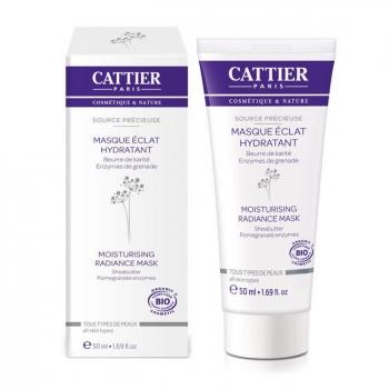 CATTIER - Masque Eclat hydratant bio - Tous types de peaux 50ml