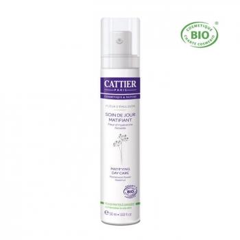 CATTIER - Soin matifiant Peaux mixtes et grasses - Fleur d'émulsion 50ml