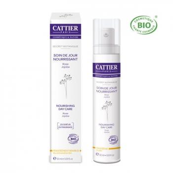 CATTIER - Soin jour nourrissant Peau sèche et sensible - Secret botanique 50ml