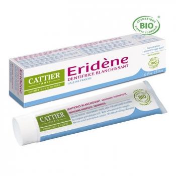 CATTIER - Dentifrice blanchissant Eridène Haleine fraîche bio 75ml