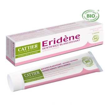 CATTIER - Dentifrice blanchissant Eridène Gencives fragiles bio 75ml