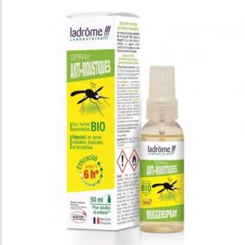 Spray anti-moustiques Bio - 50 ml - Ladrôme