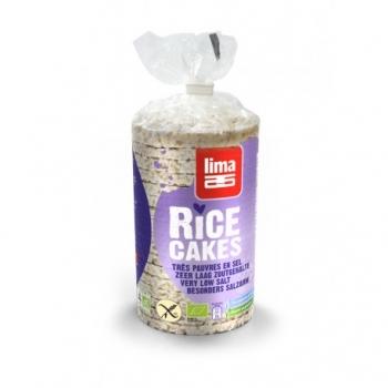 Galettes de Riz Complet Sans Sel Ajouté 100g-Lima