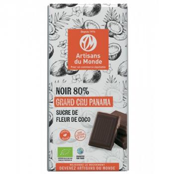 Chocolat Noir 80% Panama Bio - 100g