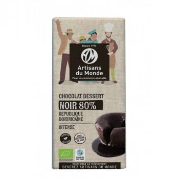 Chocolat Noir dessert 80% - 180g