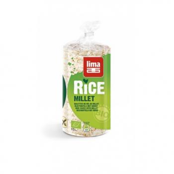 Lima - Galettes De Riz Millet 100g