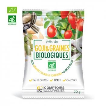 COMPTOIRS ET COMPAGNIES - Mix Superfruits Goji et graines bio 30g